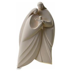 Sagrada Familia en arcilla blanca. Lis 39cm s5