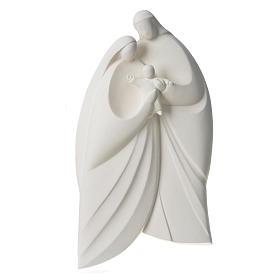 Sagrada Familia en arcilla blanca. Lis 39cm s8