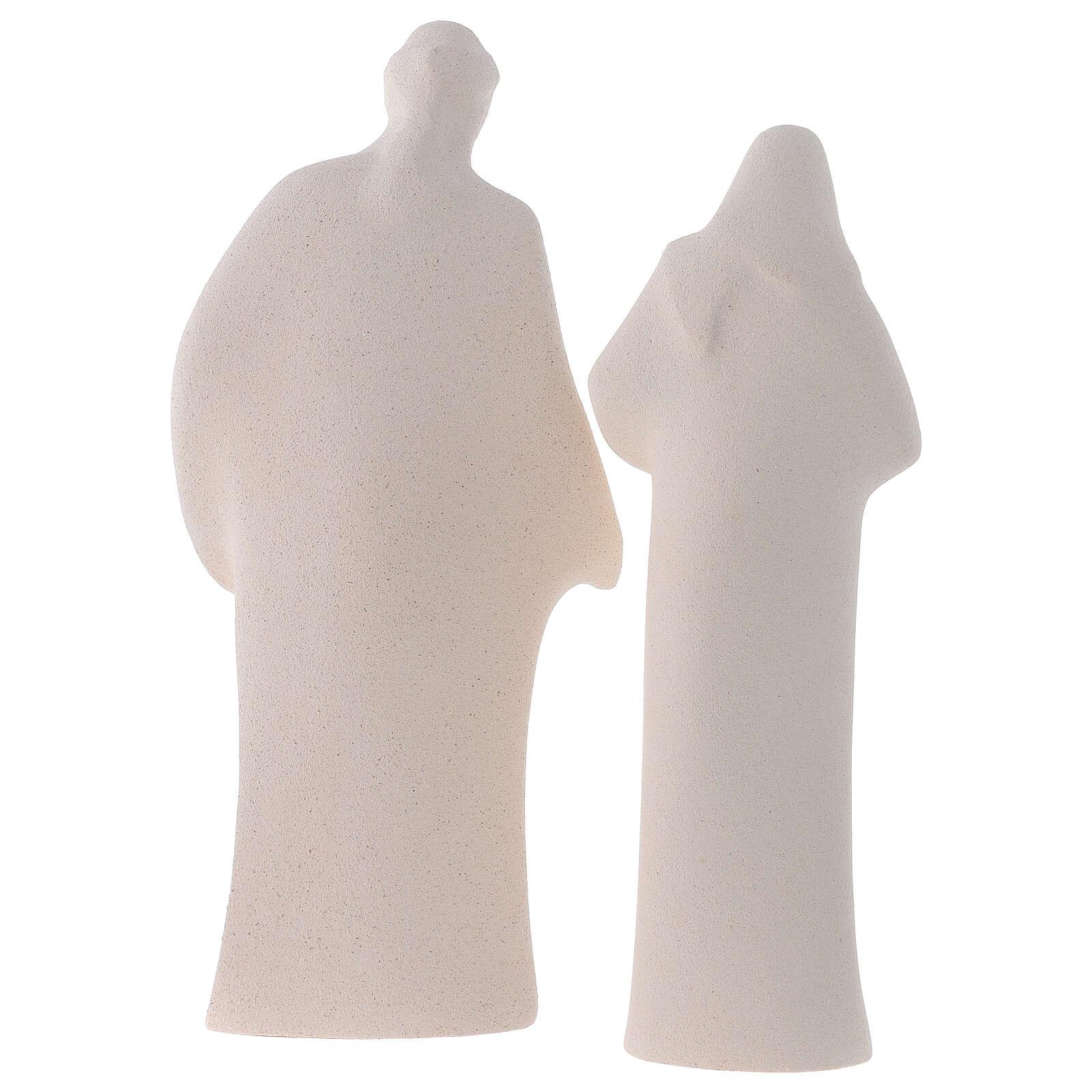 Sagrada Família argila cerâmica Ave 28 cm 4