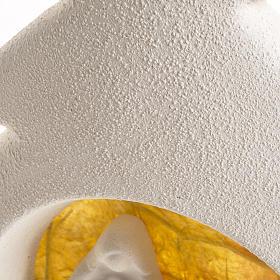 Alberello a parete natività arancio argilla s5