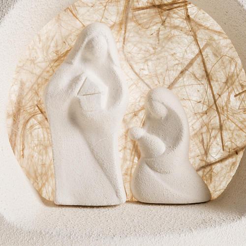Árbol de navidad para pared en  arcilla beige 2