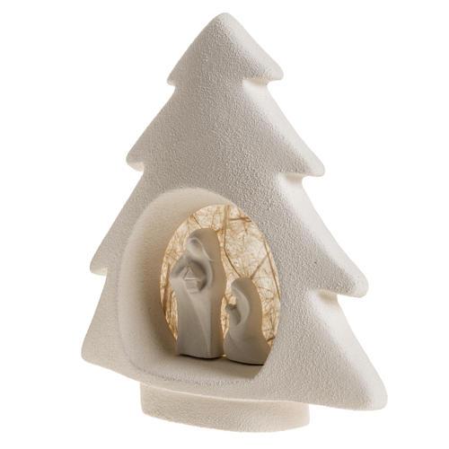 Árbol de navidad para pared en  arcilla beige 4