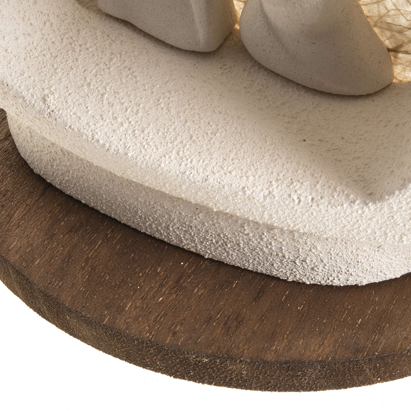 Alberello su base natività écru argilla 3