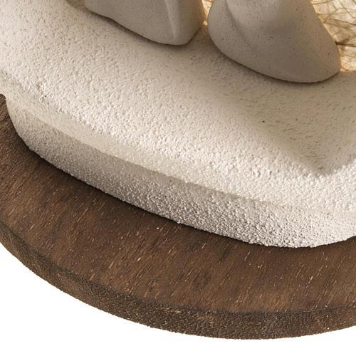 Alberello su base natività écru argilla 6