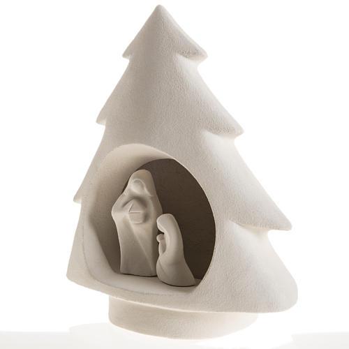 Árbol de navidad , en arcilla refractaria 4