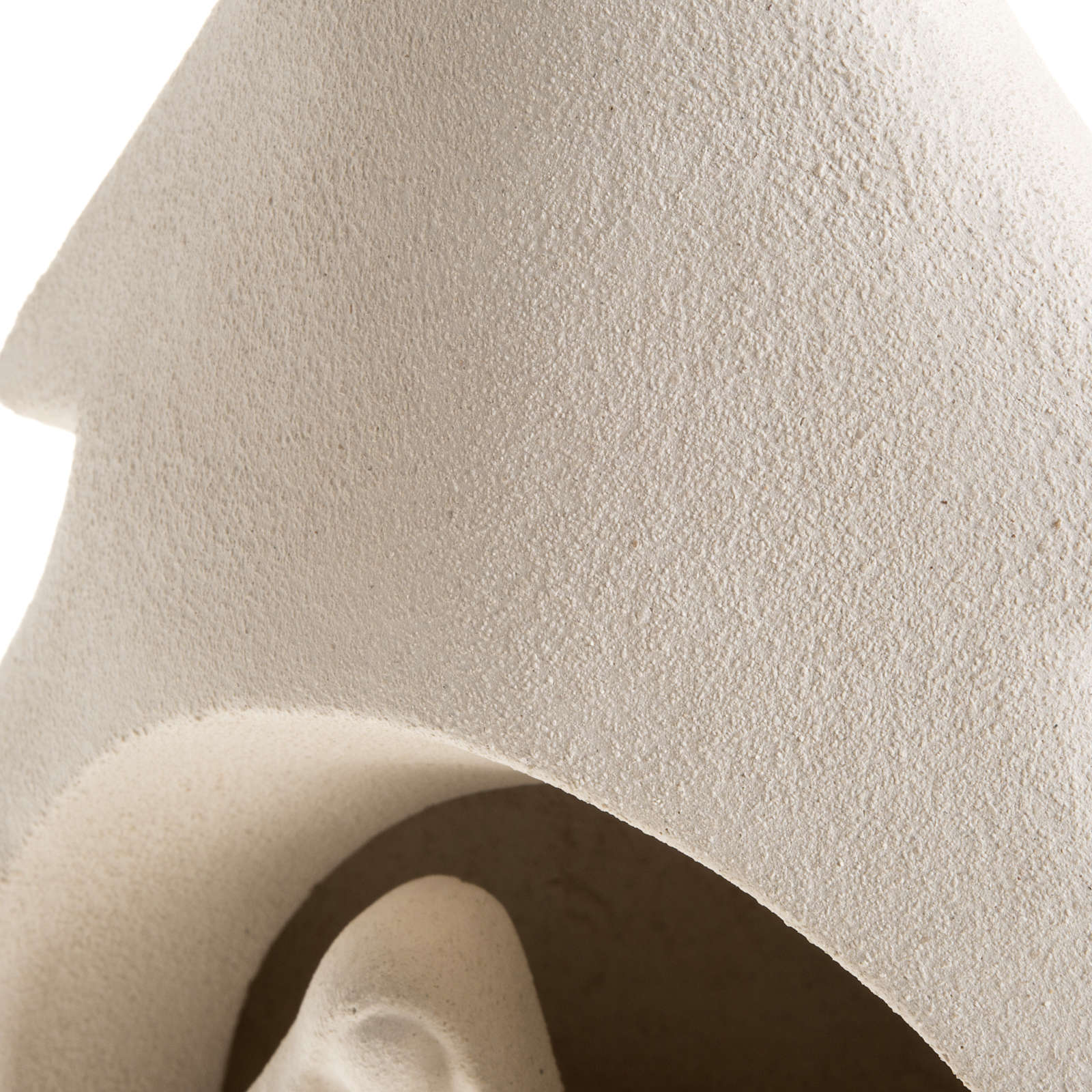 Albero presepe natività argilla refrattaria 3