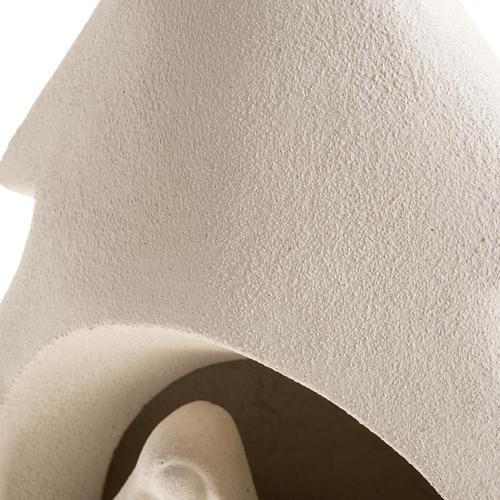 Albero presepe natività argilla refrattaria 5