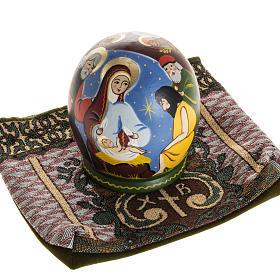 Presepe russo con Matrioska dipinto a mano s11