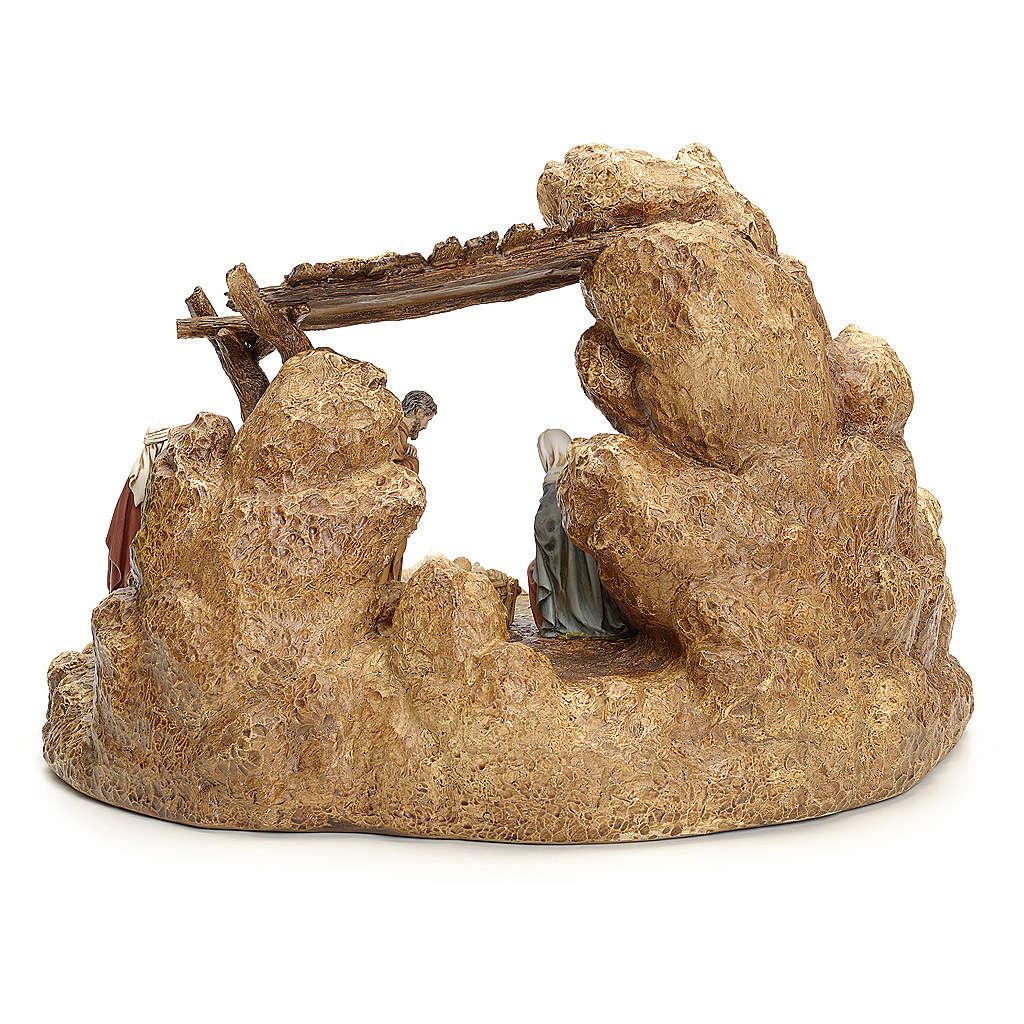 Pesebre con cabaña Landi 11cm 4