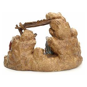 Pesebre con cabaña Landi 11cm s4