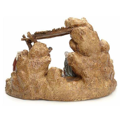 Pesebre con cabaña Landi 11cm 12