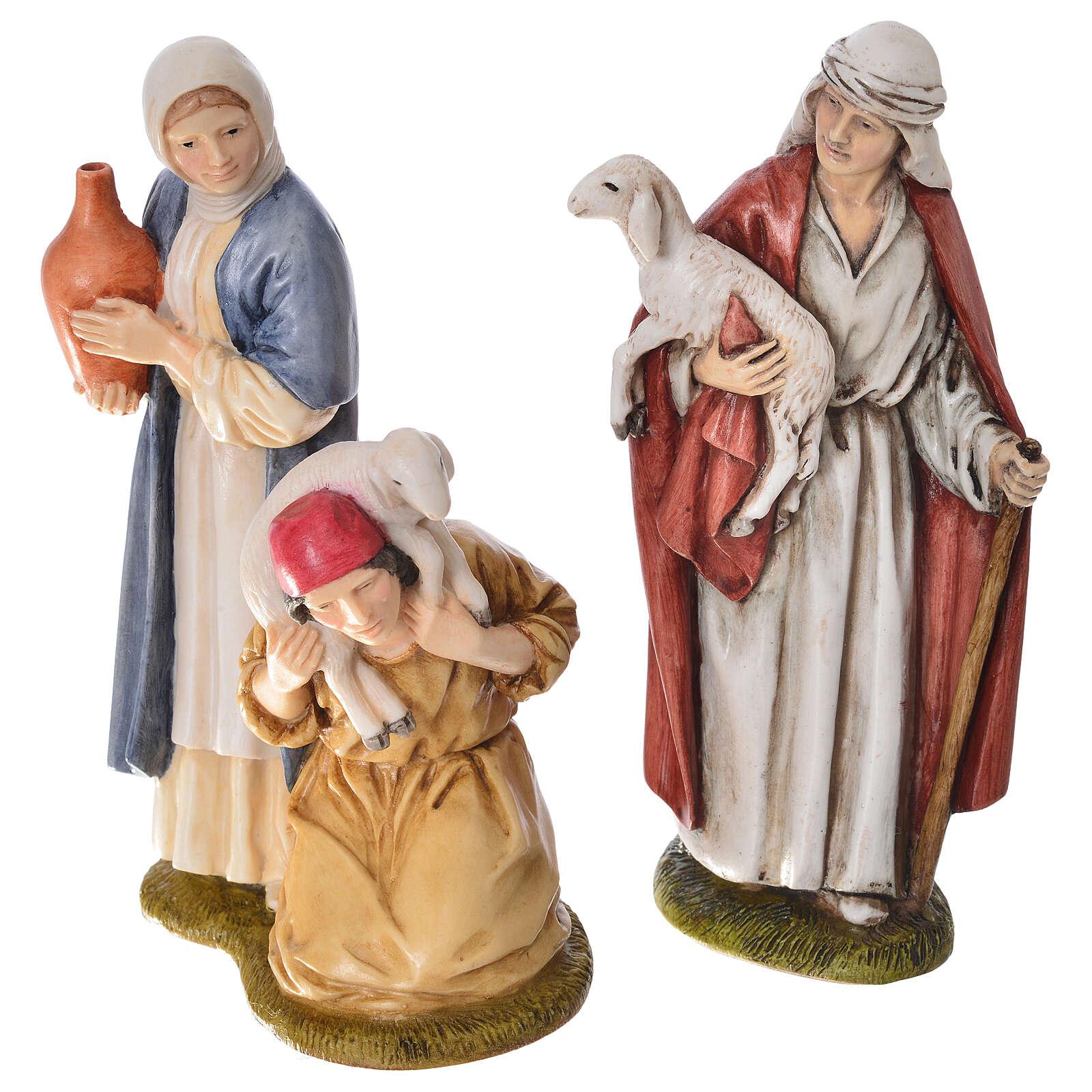 Pesebre Landi 11cm completo 12 estatuas 4