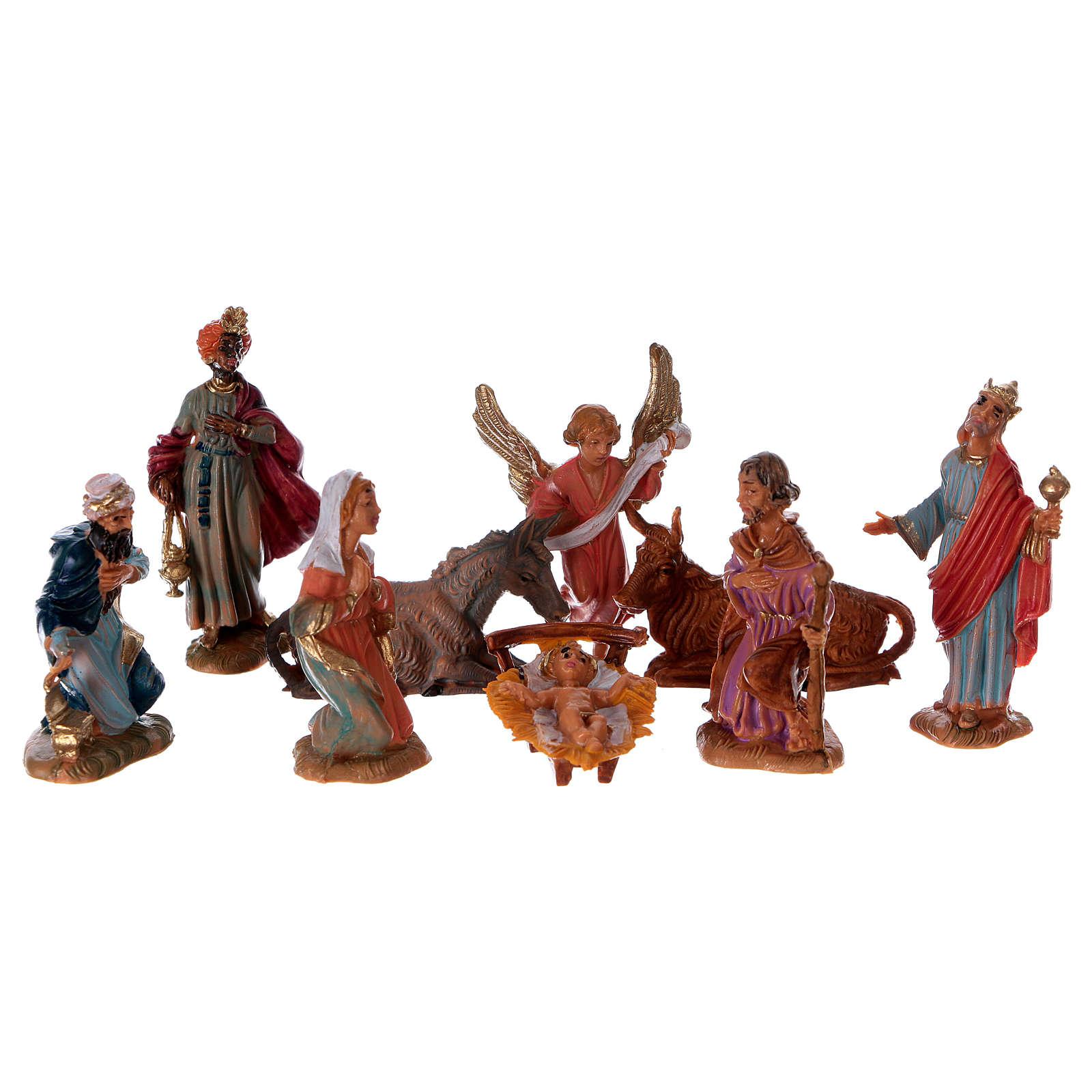 Crèche Fontanini 4 cm, 28 santons 4