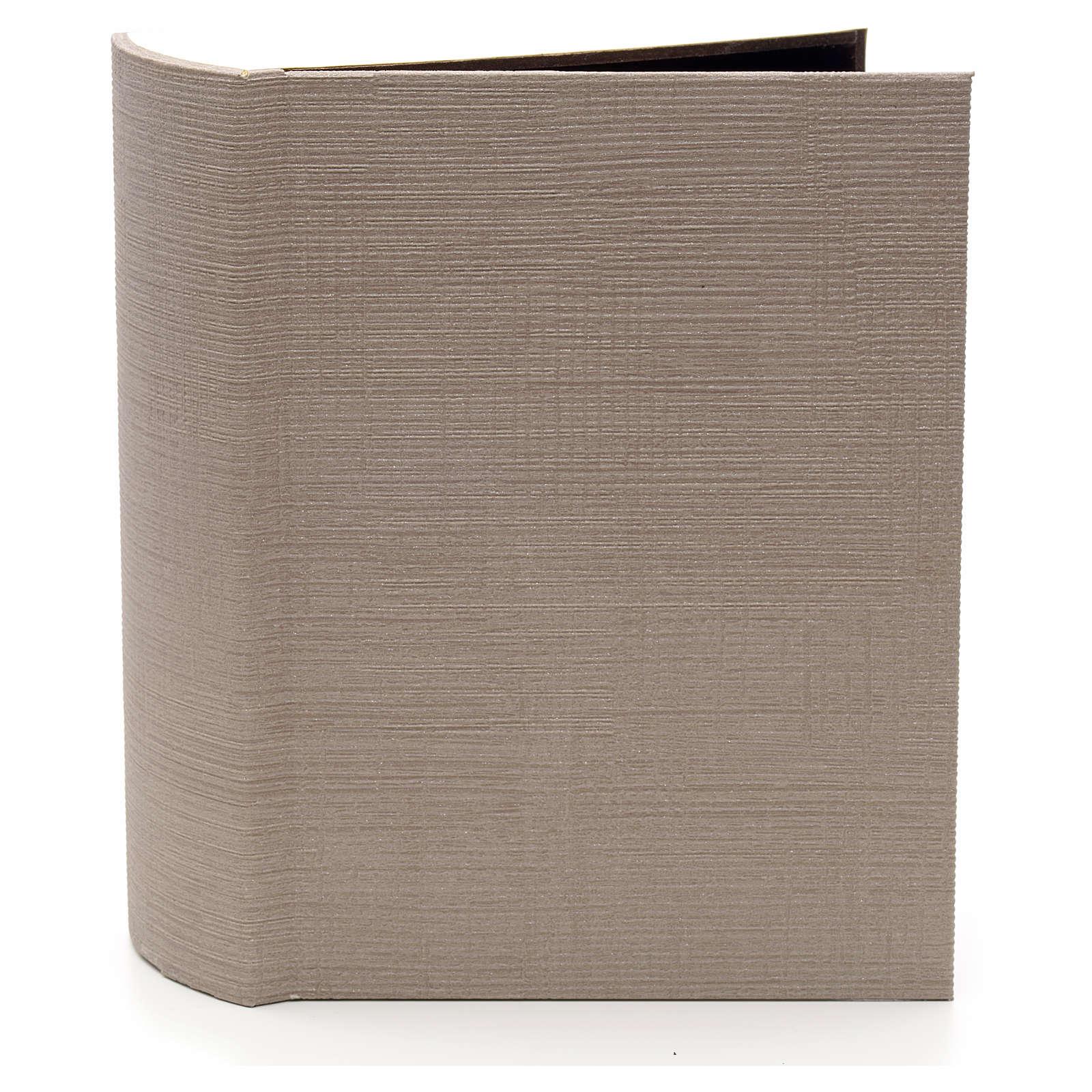 Grotta illuminata per presepe in libro dim. 24x19x8 cm 4