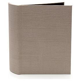 Grotta illuminata per presepe in libro dim. 24x19x8 cm s2