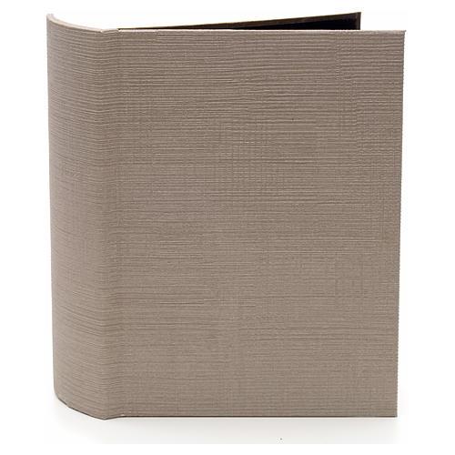 Grotta illuminata per presepe in libro dim. 24x19x8 cm 2