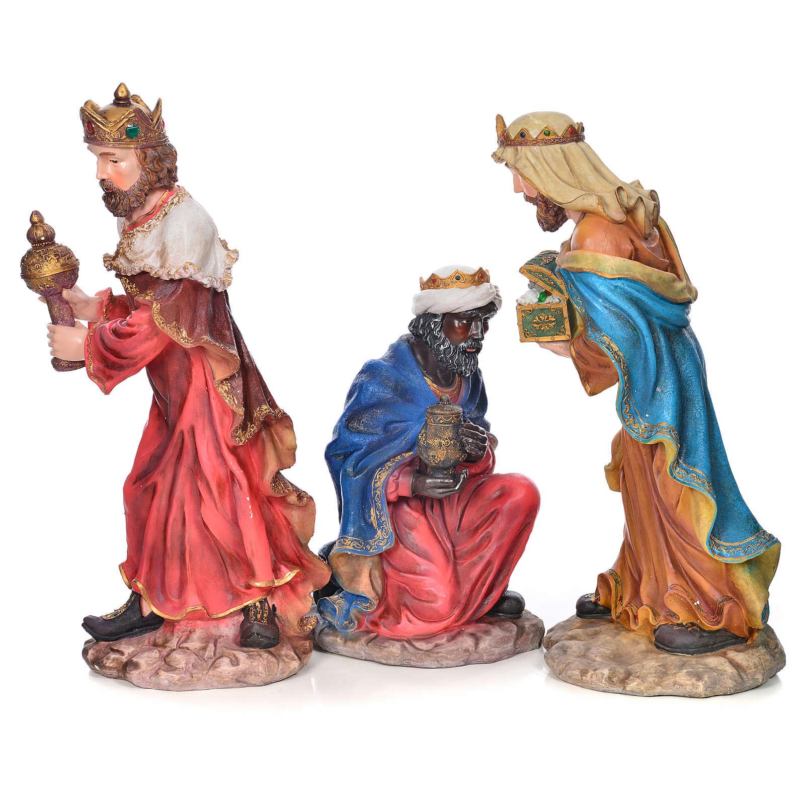 Presepe completo resina 90 cm 12 statue 4