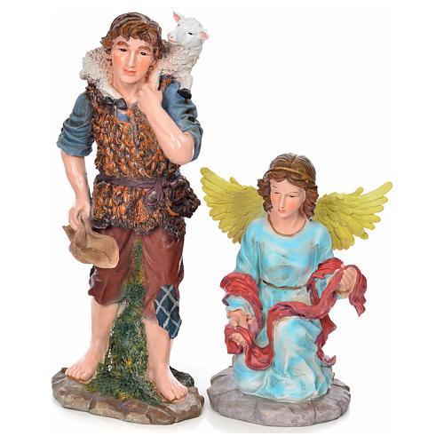 Presepe completo resina 90 cm 12 statue 6