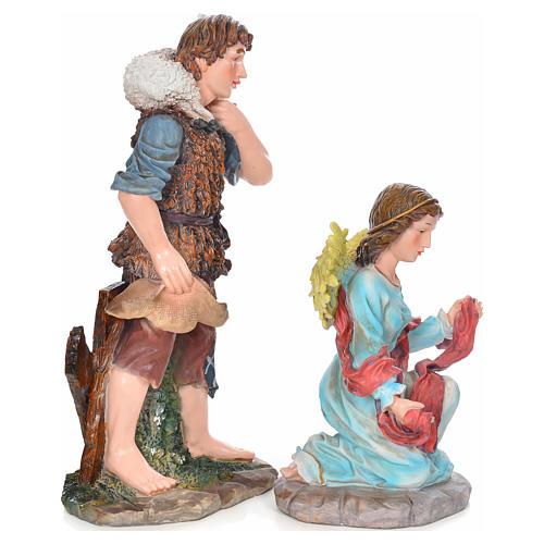 Presepe completo resina 90 cm 12 statue 7