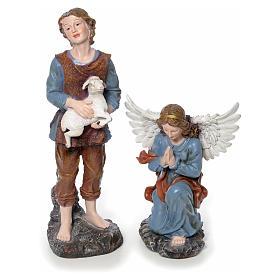 Presepe completo in resina 85 cm 12 statue s4