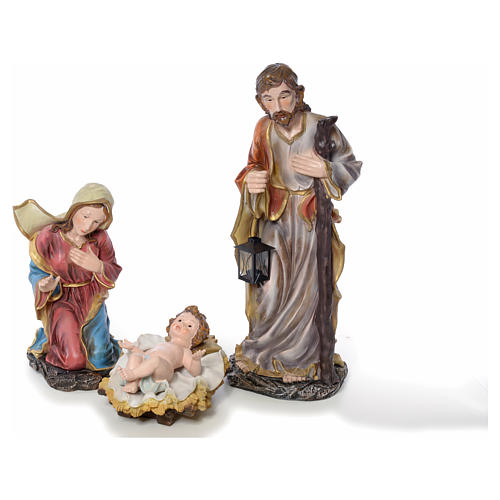 Presepe completo in resina 85 cm 12 statue 2