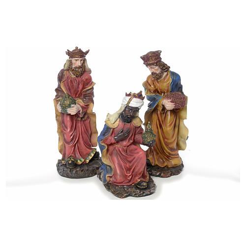 Presepe completo in resina 85 cm 12 statue 3
