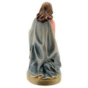 Maria 12 cm madeira presépio mod. Val Gardena s3