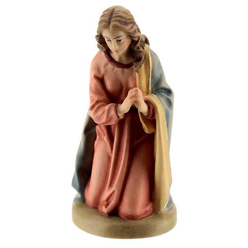 Maria 12 cm madeira presépio mod. Val Gardena 1