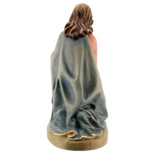 Maria 12 cm madeira presépio mod. Val Gardena 3