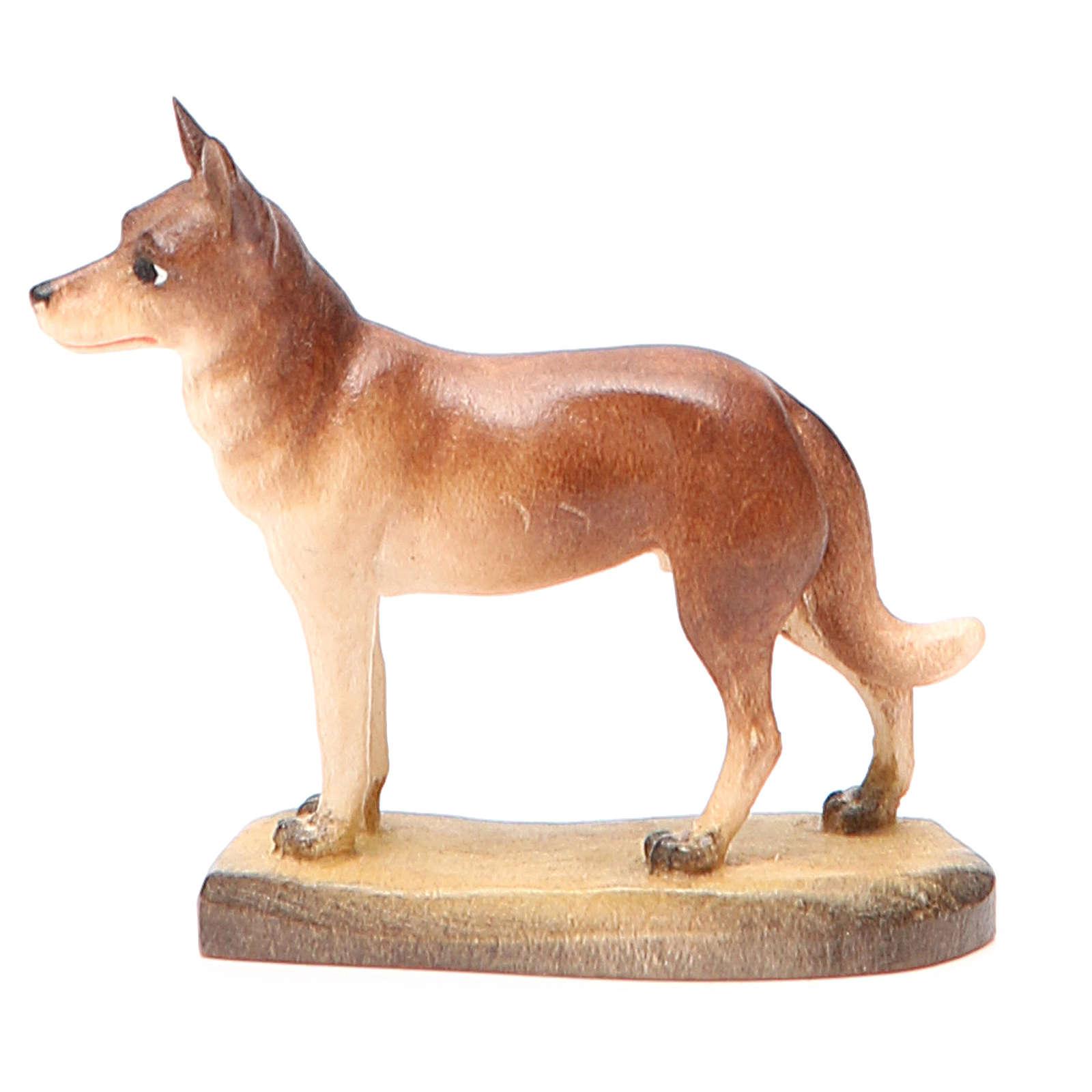 Cane 12 cm legno presepe mod. Valgardena 4