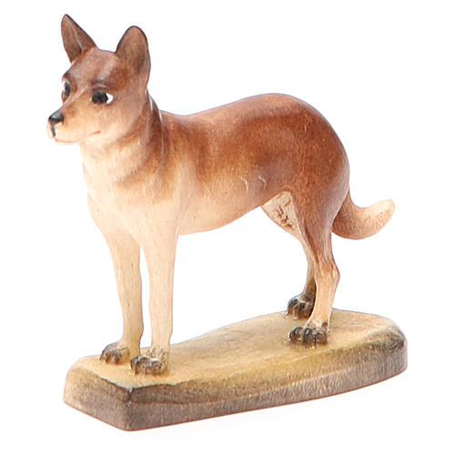 Cane 12 cm legno presepe mod. Valgardena 1