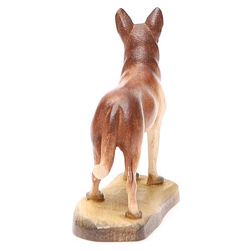 Cane 12 cm legno presepe mod. Valgardena 3