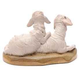 Pecore 12 cm legno presepe mod. Valgardena s2