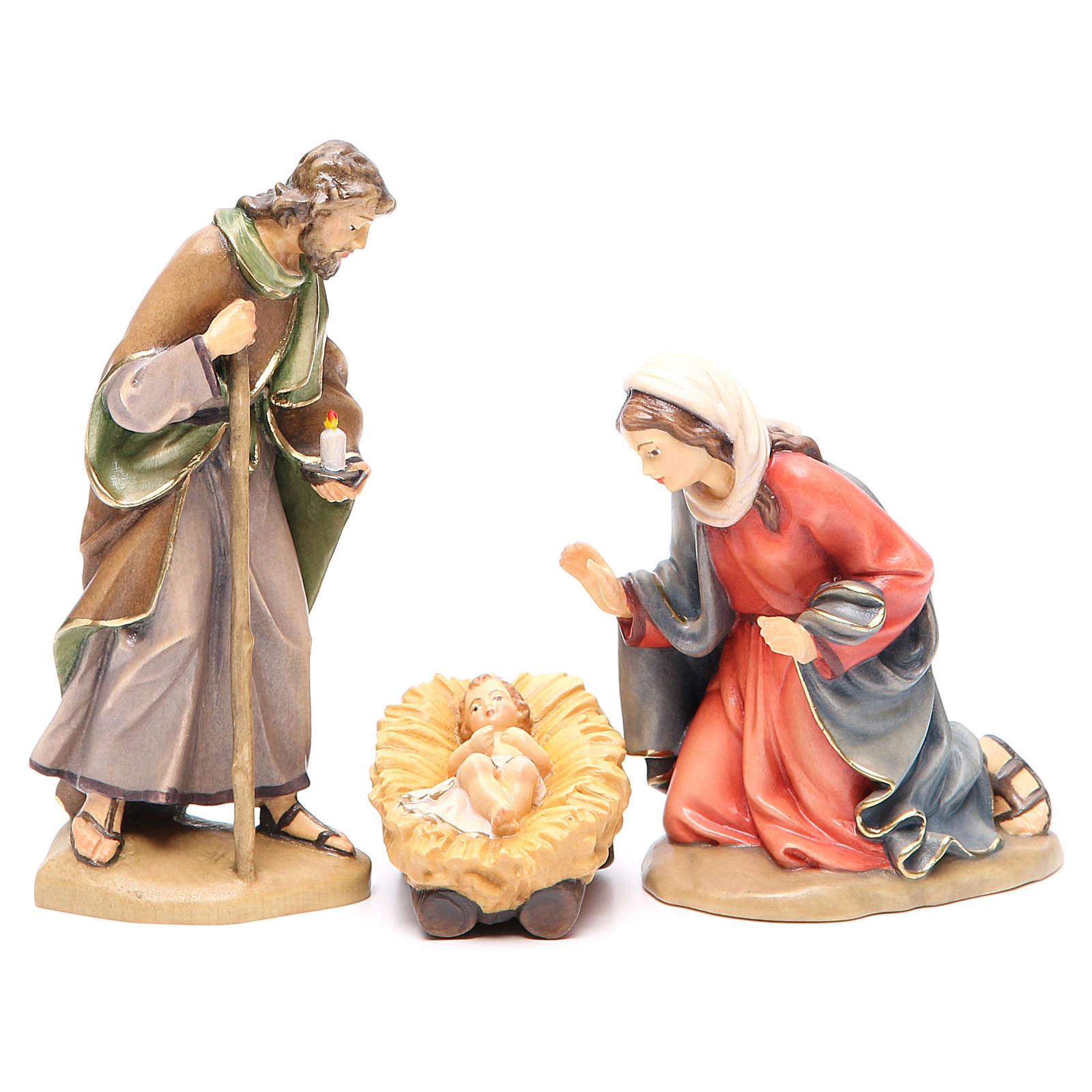 Sacra Famiglia mod. Orient legno Valgardena dipinto 4