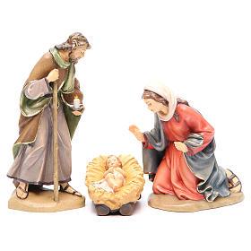 Sacra Famiglia mod. Orient legno Valgardena dipinto s1