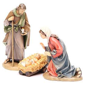 Sacra Famiglia mod. Orient legno Valgardena dipinto s2