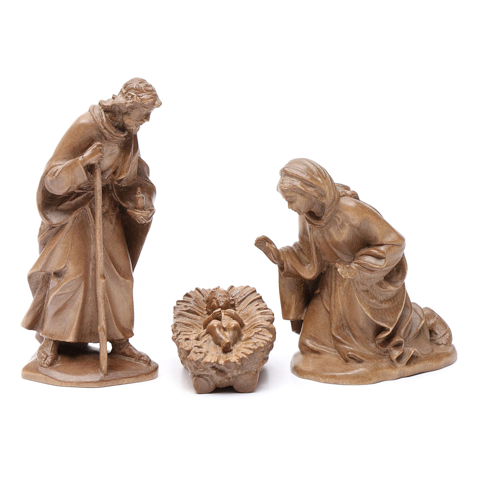 Sagrada Familia, mod. Orient, madera Valgardena patinada 4