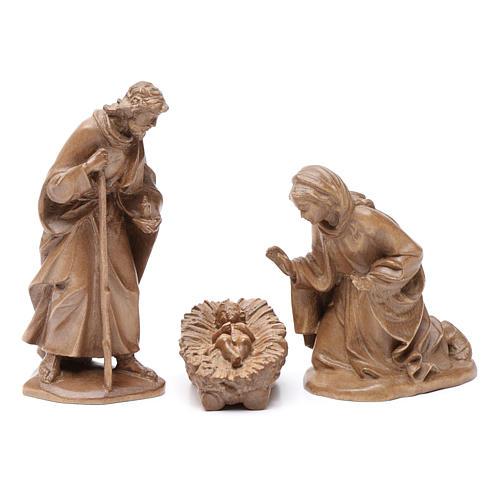 Sagrada Familia, mod. Orient, madera Valgardena patinada 1