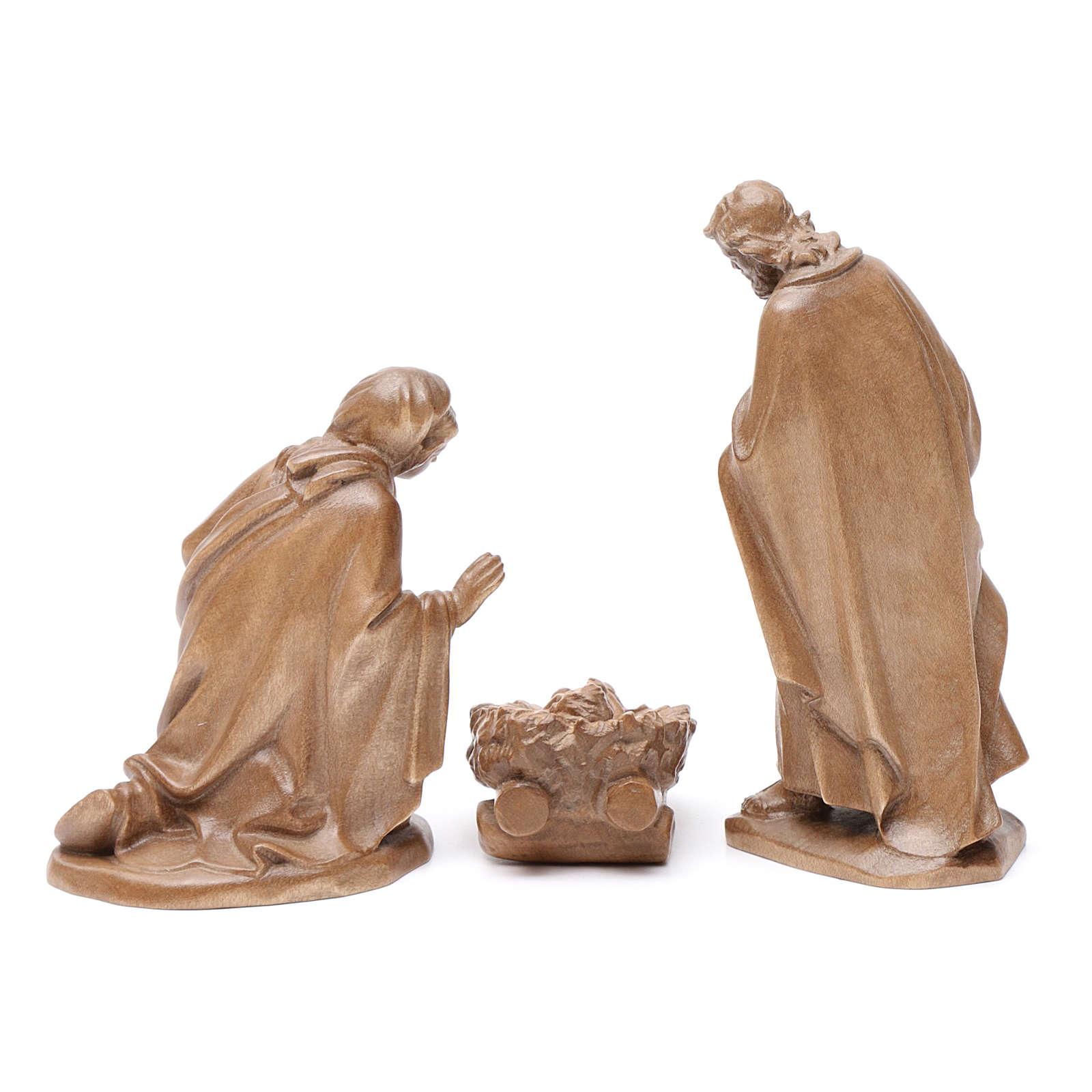 Sacra Famiglia mod. Orient legno Valgardena patinato 4
