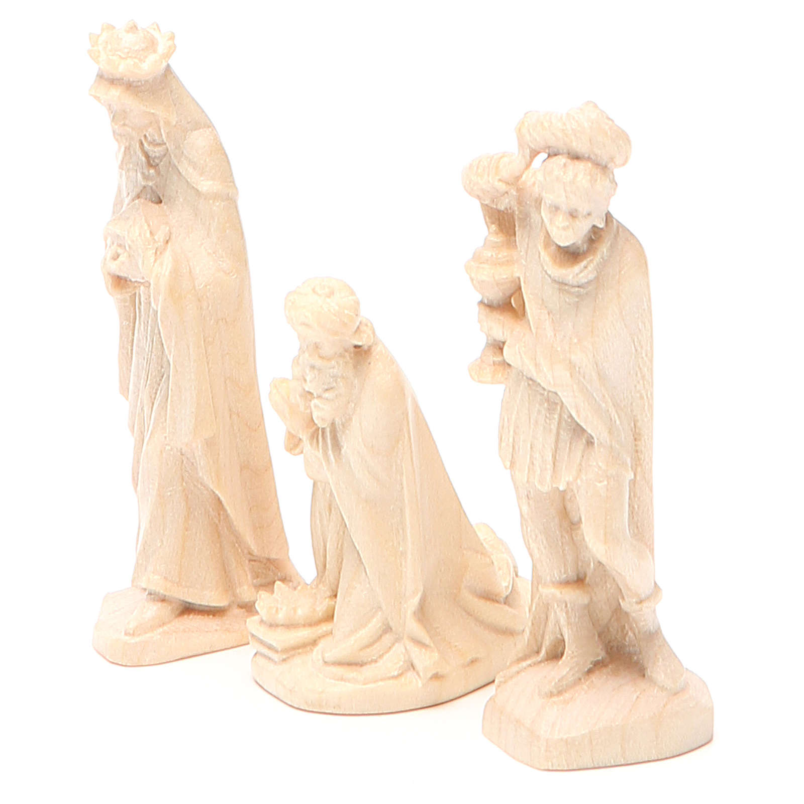 Wise Kings, Orient model in Valgardena wood, natural wax 4