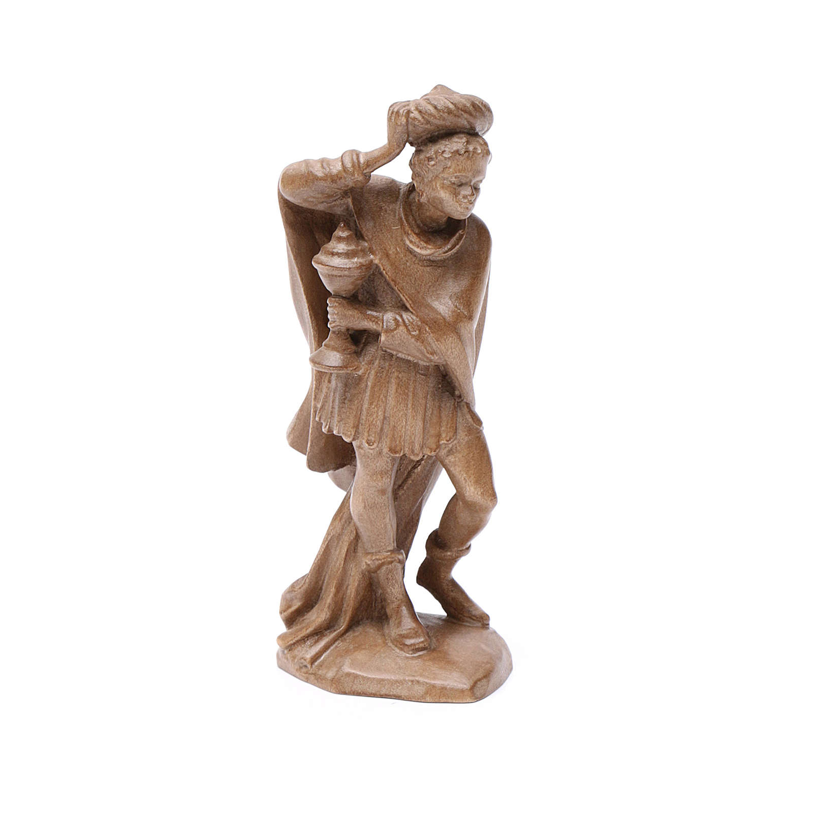 Reyes Magos, mod. Orient, madera Valgardena patinada 4