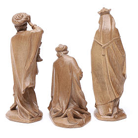 Reyes Magos, mod. Orient, madera Valgardena patinada s2