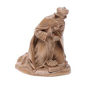 Reyes Magos, mod. Orient, madera Valgardena patinada s4