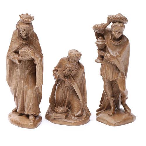 Reyes Magos, mod. Orient, madera Valgardena patinada 1