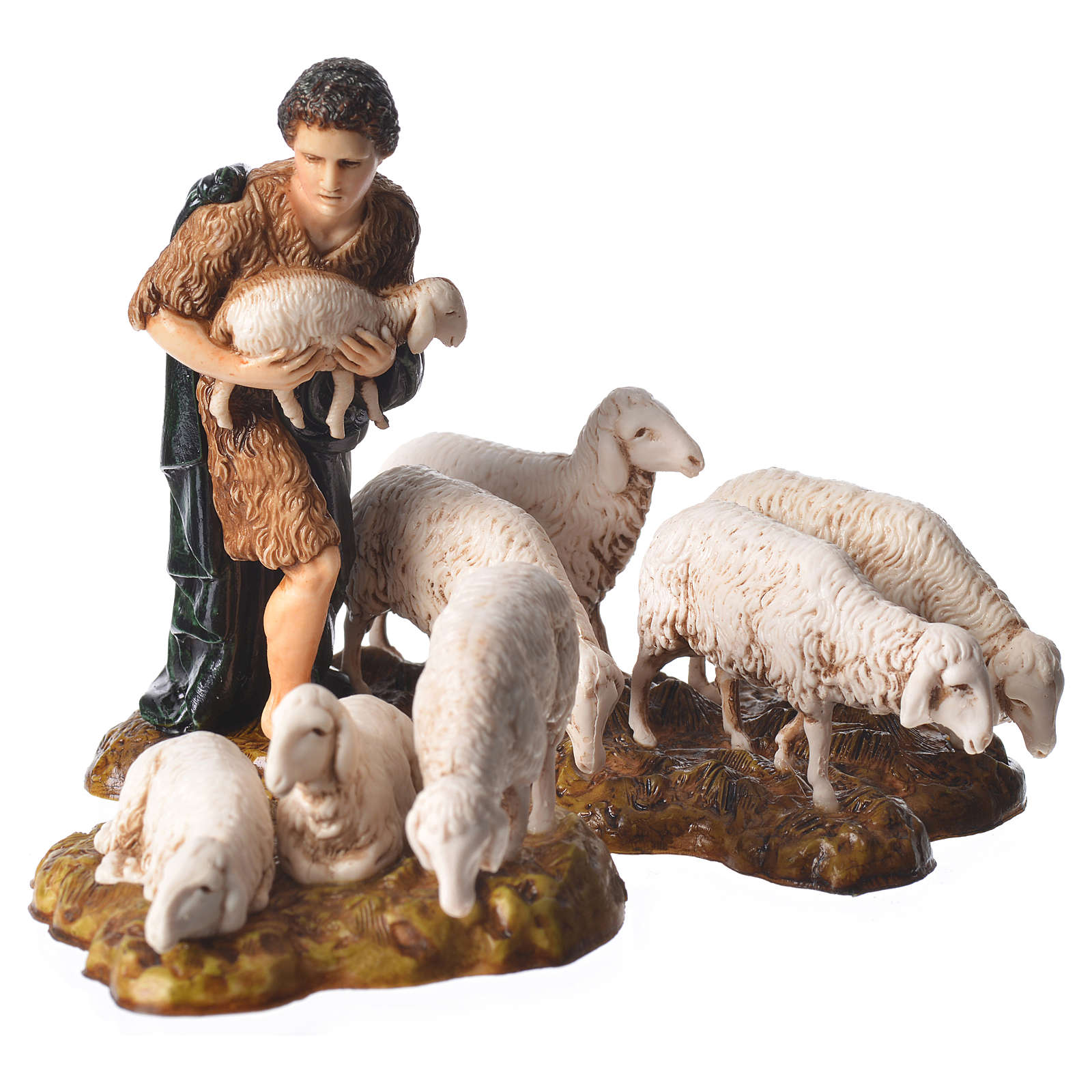 Complete nativity, 9cm Moranduzzo, 14 pieces 4