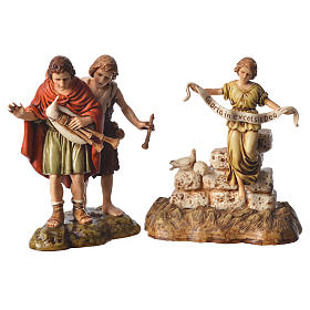 Complete nativity, 9cm Moranduzzo, 14 pieces s3