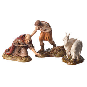 Complete nativity, 9cm Moranduzzo, 14 pieces s6