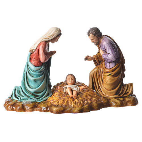 Complete nativity, 9cm Moranduzzo, 14 pieces 2