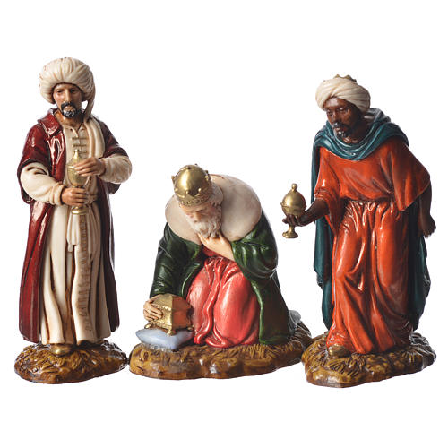 Complete nativity, 9cm Moranduzzo, 14 pieces 5