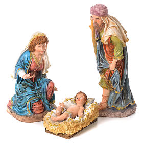 Complete nativity set in resin, 11 figurines 53cm s2